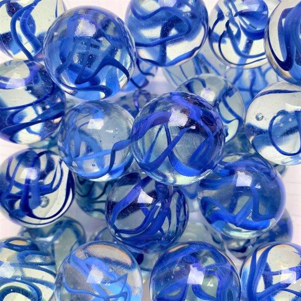 Aquarell - blau 25mm
