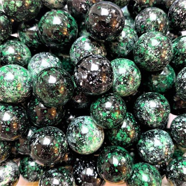 Galaxie - grün 16mm
