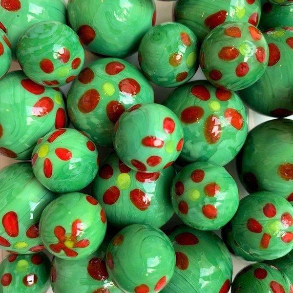 Frühling - grün 16mm
