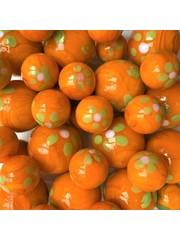 Frühling - orange 25mm