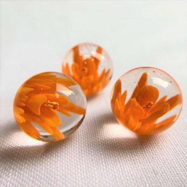 Blühen - orange 25mm