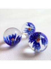 Blühen - blau 25mm