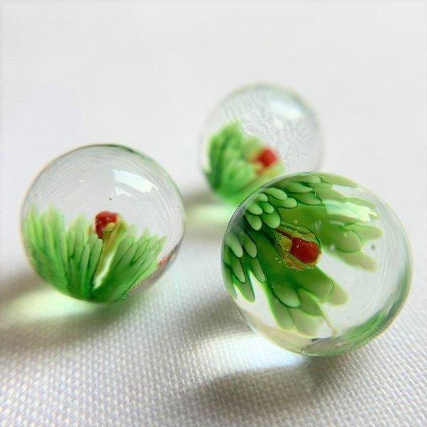 Blühen - grün 16mm
