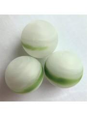 Weiß-grün gestreift 16,48mm