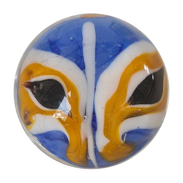 Ta Moko - blau 22mm