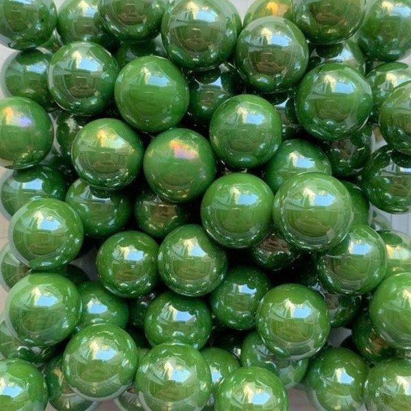 Grüne Perle 16mm