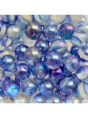 Tropfen - blau 16mm