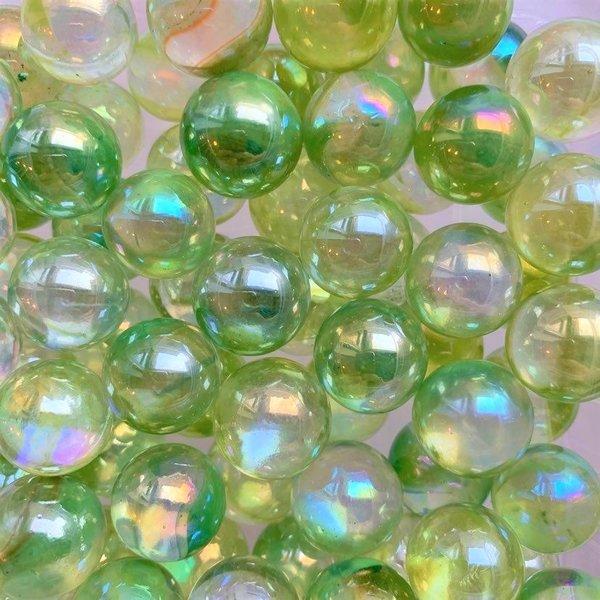 Tropfen - grün 16mm