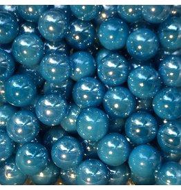 Azurblaue Perle 16mm