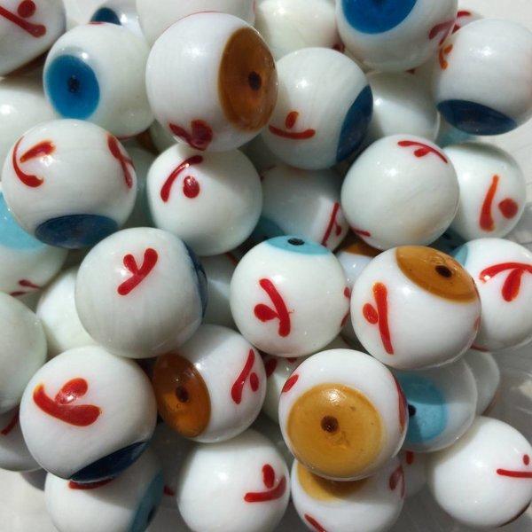 Hellblaues Auge 20mm