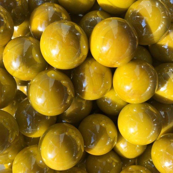 Gelbe Perle 22mm