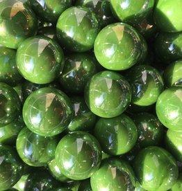 Grüne Perle, 22mm