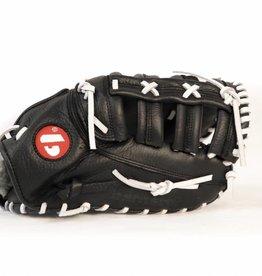 barnett GL-301 Rękawica baseballowa turniejowa dla pierwszobazowego, skórzana, dla dorosłych, czarna