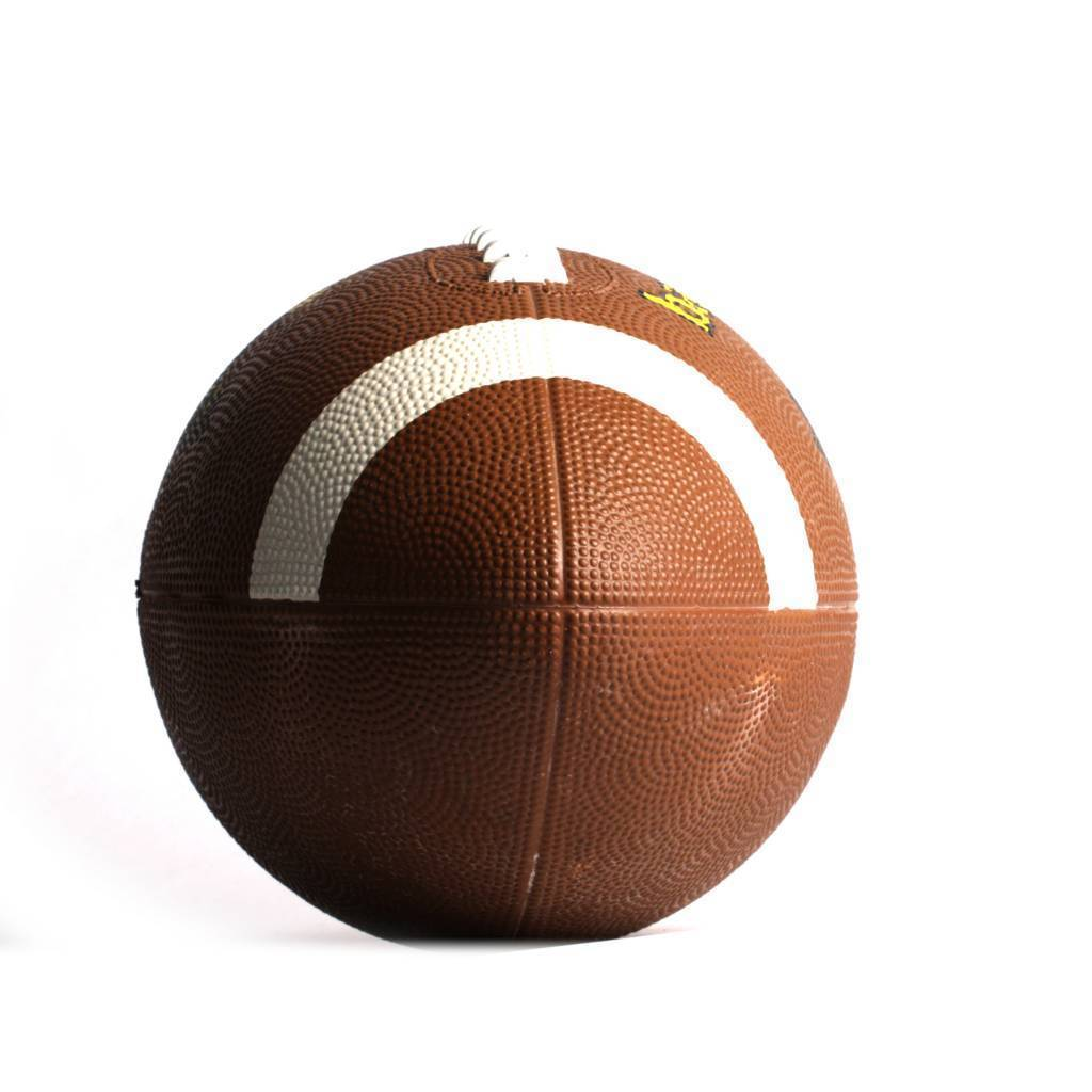 barnett ASR-1 piłka futbolowa treningowa, brązowa, nylonowa