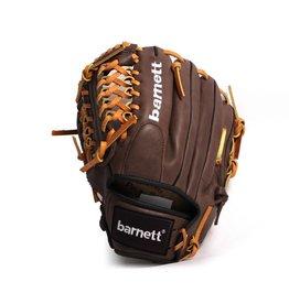 "barnett GL-115 Rękawica baseballowa turniejowa, infield 11,5"", skóra naturalna, brązowa"