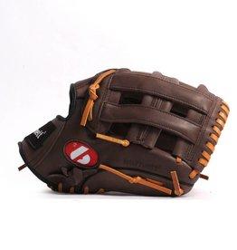 "barnett GL-125 Rękawica baseballowa turniejowa, outfield 12.5"", skóra naturalna, brązowa"