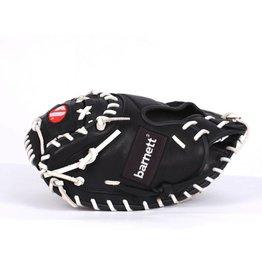 barnett GL-202  catcher rekawica baseballowa, skóra naturalna, dorosły 34 '', czarny