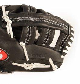 """barnett GL-130 Zawodowa  rękawica baseballowa, skóra naturalna 13 """", outfield, czarny"""