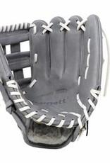"""FL-117 rękawica do baseballa i softballa skóra wysokiej jakości infield / fastpitch 11,7 """", jasnoszara"""