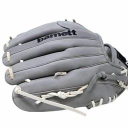 """FL-120 rękawica do baseballa i softballa skóra wysokiej jakości infield / outfield/ pitcher 12 """", jasnoszara"""