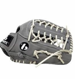 FL-125 rękawica do baseballa i softballa skóra wysokiej jakości infield / outfield/ pitcher  jasnoszara