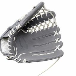 FL-127 rękawica do baseballa i softballa skóra wysokiej jakości infield / outfield/ pitcher  jasnoszara