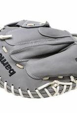 FL-201 rękawica do baseballa skóra wysokiej jakości catcher jasnoszara