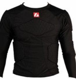 barnett FS-08 Koszulka kompresyjna z długim rękawem, 5 zintegrowanych zabezpieczeń