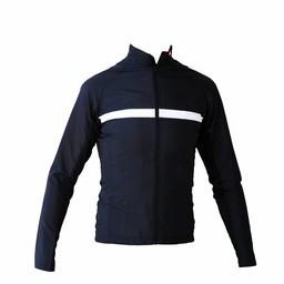 kurtka z długim rękawem, wiatrówka czarno-biala