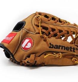 """barnett SL-115 Skórzana rękawica baseballowa infield/outfield, rozmiar 11.5"""", brązowa"""