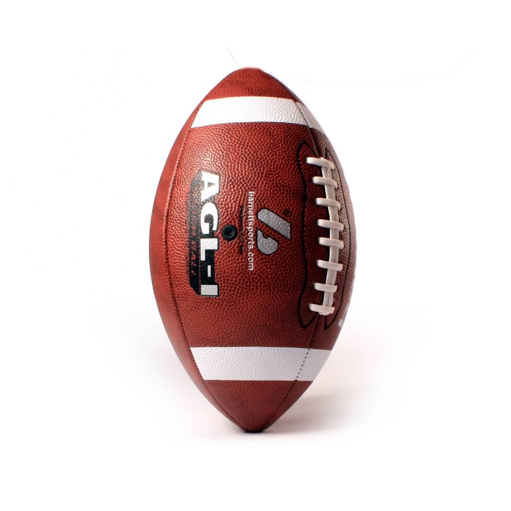 barnett AGL-1 piłka futbolowa, meczowa, brązowa, skóra kompozytowa