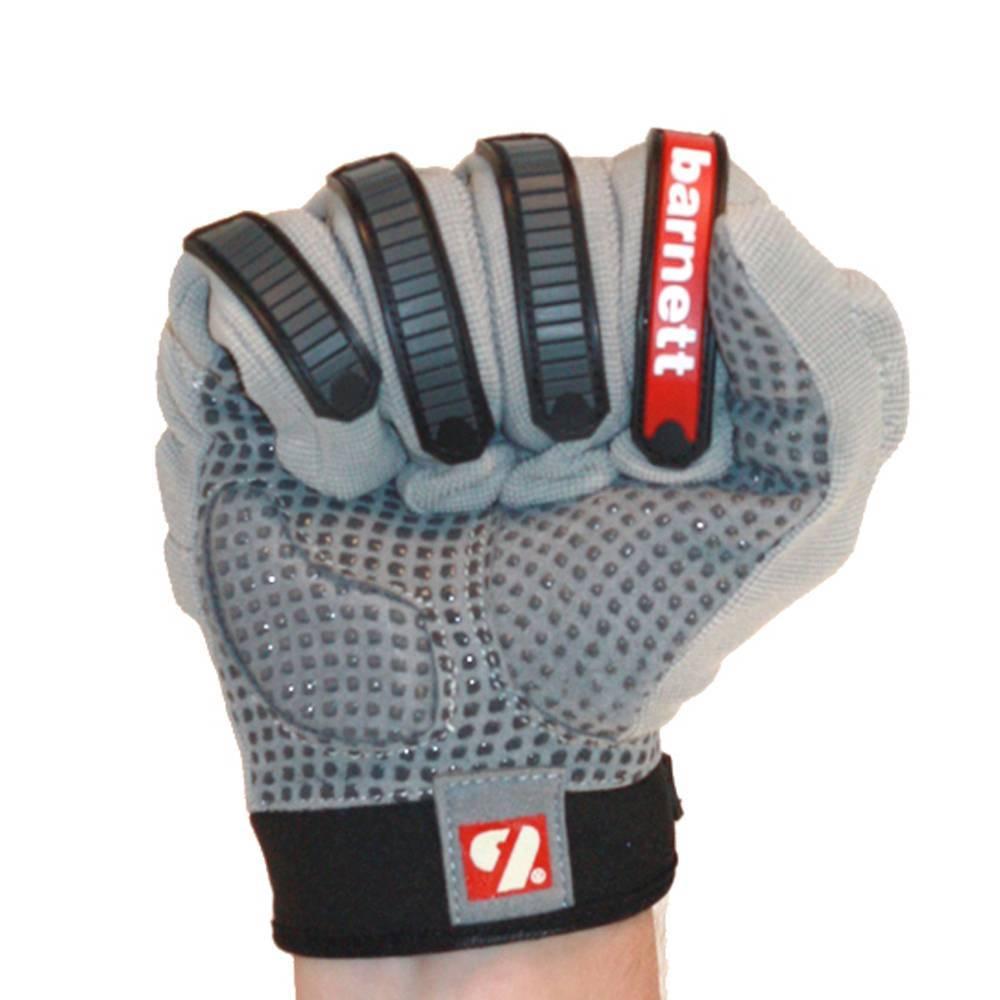 barnett FLG-02 Rękawice futbolowe nowej generacji dla biegaczy, szare