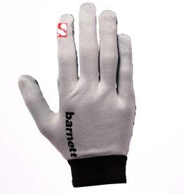 barnett FLGL-02 rękawice futbolowe nowej generacji dla biegaczy, szare