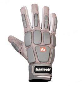 barnett FKG-03 Najwyższej klasy rękawice futbolowe dla wspomagających, szare