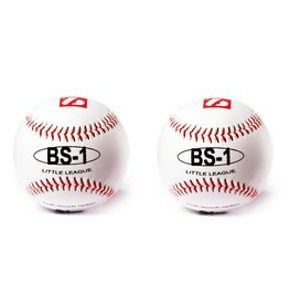 "barnett BS-1 Piłka baseballowa treningowa, rozmiar 9"" biała, 2 sztuki"