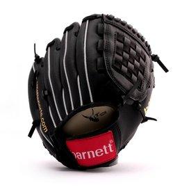 "barnett JL-102 Rękawica baseballowa, skóra kompozytowa, rozmiar 9,5"", czarna"
