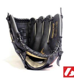 "barnett JL-120 Rękawice baseballowe, skóra kompozytowa, rozmiar 12"", czarna"