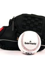barnett GBJL-4 Zestaw baseballowy, Youth, piłka, rękawica, PU (JL-102, BS-1)