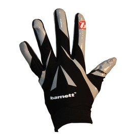 barnett FRG-03 profesjonalne rękawice futbolowe dla skrzydłowych, czarne