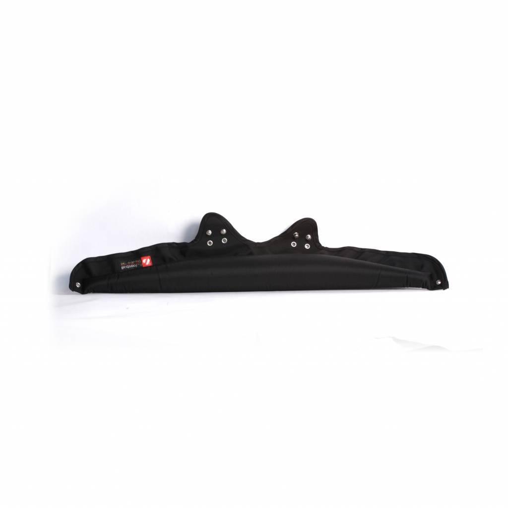 N-01 Neck Collar for Shoulder Pads, Black