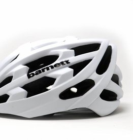 Barnett KS29 Bike and Roller Ski Helmet, WHITE