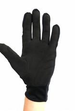 NBG-18  Gloves for Rollerski - cross-country - road bike - running - Black