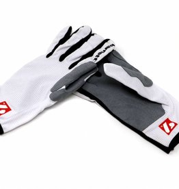 NBG-18  Gloves for Rollerski - cross-country - road bike - running - WHITE