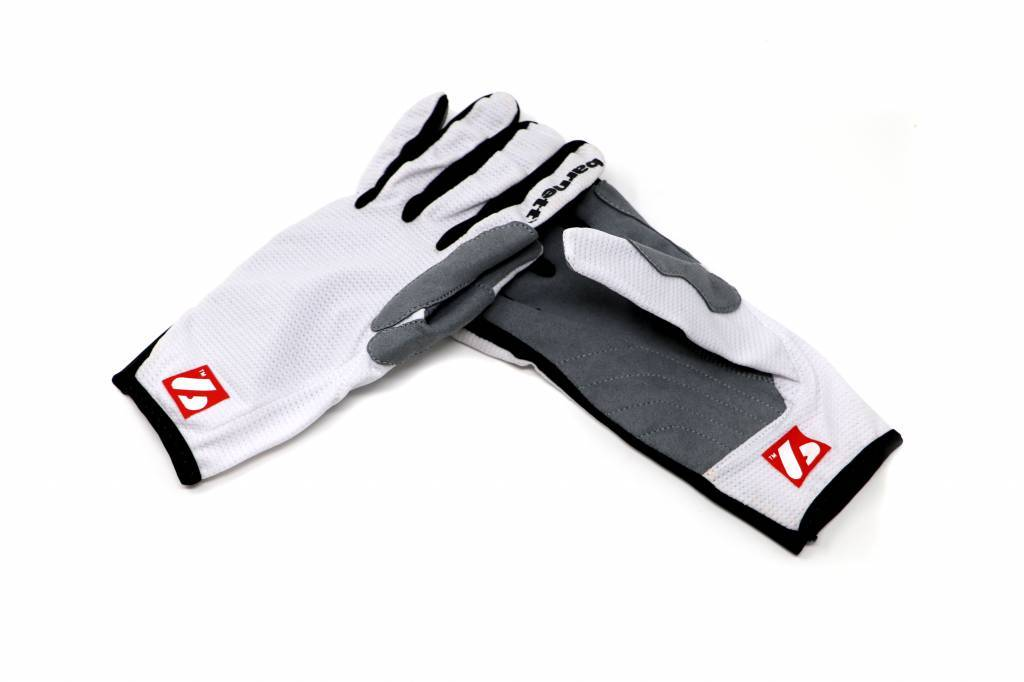 NBG-18  Gloves for Rollerski - cross-country - road bike - running - WHITE
