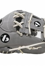 "FL-115 baseball glove, high quality, leather, infield/outfield 11"", light gray"