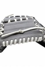 "Barnett FL-203 "" softball glove, high quality, leather, catcher, light grey"