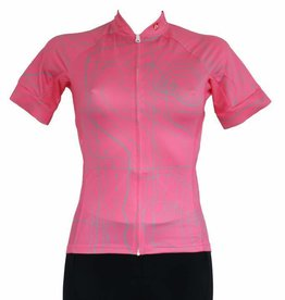 Bike textile - short sleeve Jersey, pink