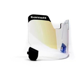 Barnett Football Eyeshield / Visor, eyes-shield, orange
