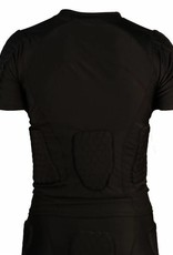 FS-09 compression T-shirt with short sleeves, 5 integrated pieces, for American football