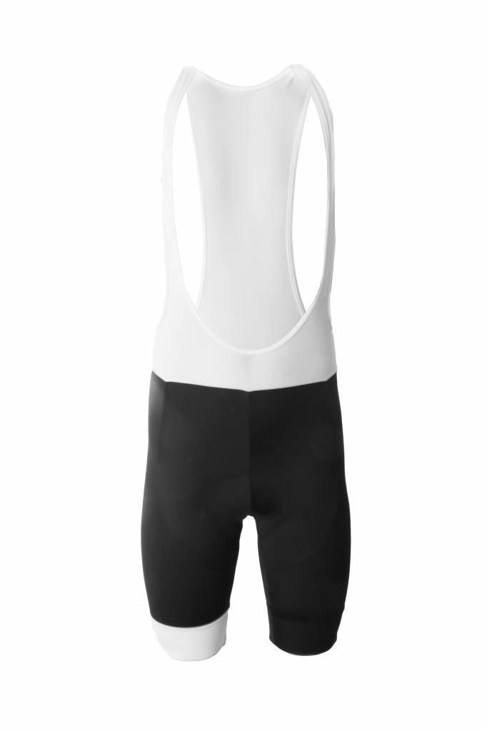 Bike textile - black and white Bib short